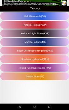 IPL 2016 screenshot 3