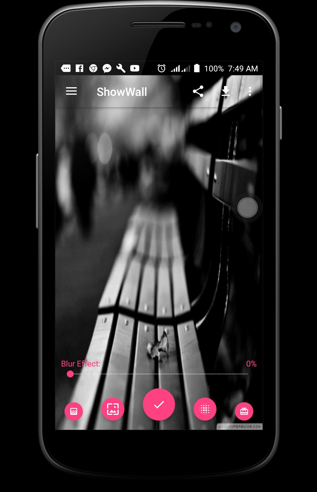 Love Wallpaper Blur It Black White It For Android Apk