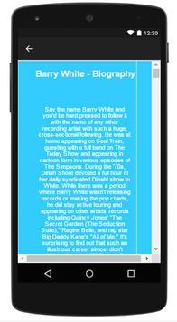 Barry White Songs & Lyrics screenshot 4