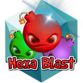 Hexa Blast Monster Mania-Link icon