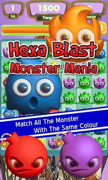 Hexa Blast Monster Mania-Link screenshot 1