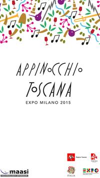 Appinocchio - Tuscany Expo2015 poster