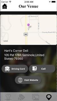 Hart's Corner Deli poster