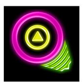 Neon Geoms Free icon
