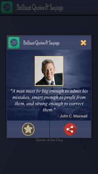 Brilliant Quotes and Sayings apk screenshot