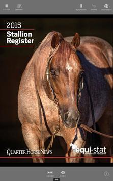 Quarter Horse Stallion poster