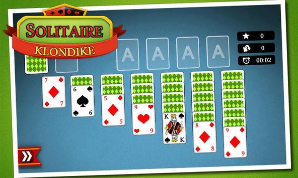 Solitaire Klondike poster