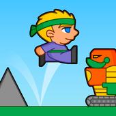 Villagers vs Robots Run icon