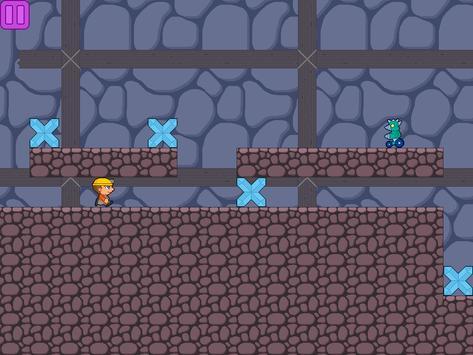 Villagers vs Robots Run apk screenshot