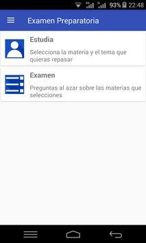 Examen Preparatoria poster