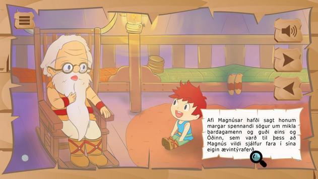 Ævintýri Magnúsar - Læst screenshot 3