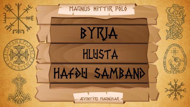 Ævintýri Magnúsar - Læst poster