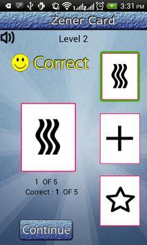 Test Your ESP - Zener Cards apk screenshot