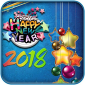 Happy New Year Wall and Card Maker icon