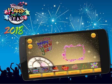 Happy New Year Wall and Card Maker apk screenshot
