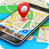 Maps, GPS Navigation & Directions, Street View icon