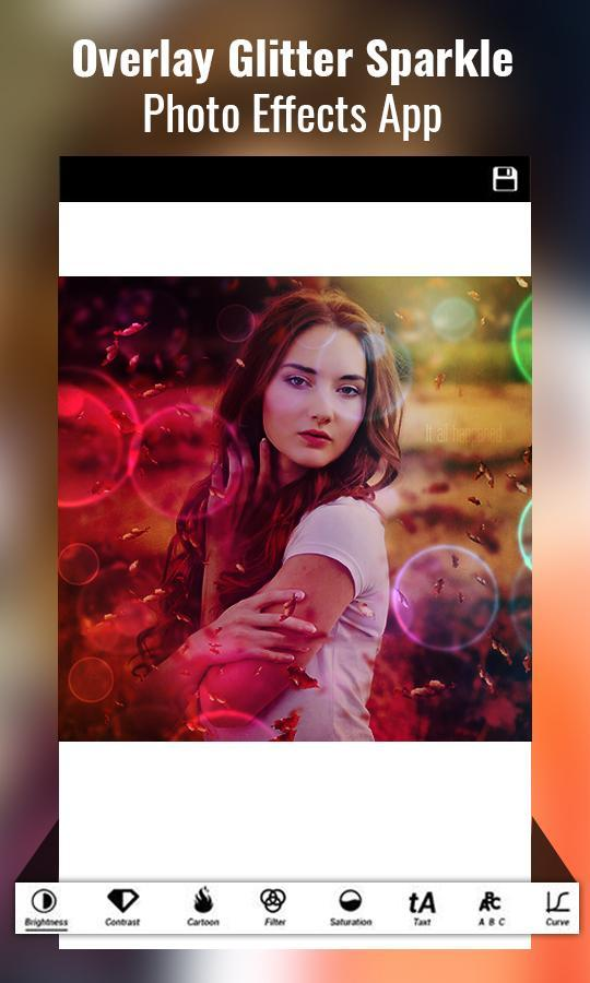 Overlay Glitter Sparkle Photo Effects for Android - APK