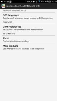 Business Card Reader for Zoho CRM screenshot 17
