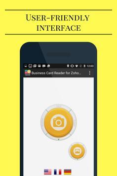 Business Card Reader for Zoho CRM screenshot 3