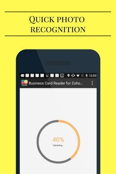 Business Card Reader for Zoho CRM screenshot 5