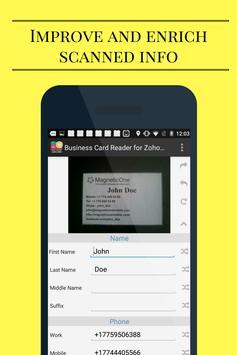 Business Card Reader for Zoho CRM screenshot 6