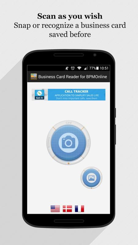 Business card reader for bpmonline crm apk baixar grtis business card reader for bpmonline crm apk imagem de tela reheart Gallery
