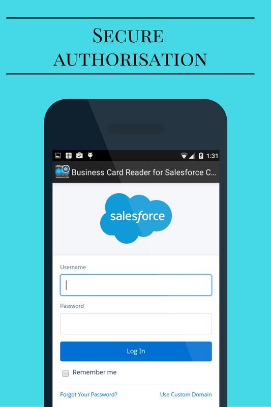 Business card reader for salesforce crm apk download free business business card reader for salesforce crm apk screenshot reheart Images