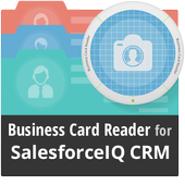 Business Card Reader for SalesforceIQ CRM icon