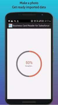 Business Card Reader for SalesforceIQ CRM screenshot 2