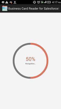 Business Card Reader for SalesforceIQ CRM apk screenshot