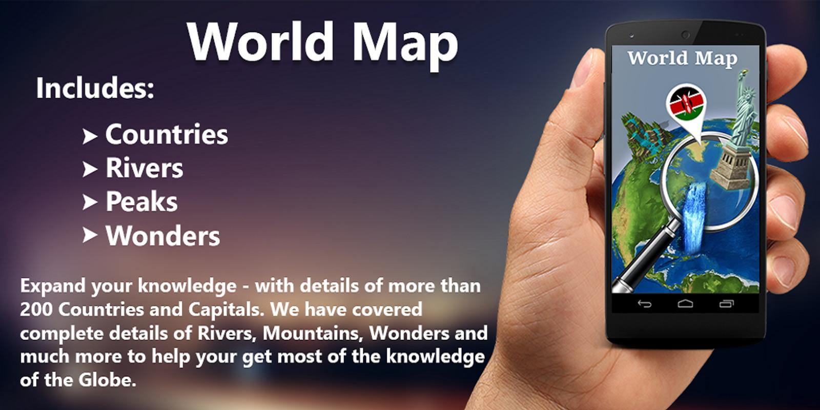 World map apk download free travel local app for android world map apk screenshot gumiabroncs Images