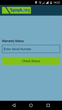 WarrantyStatus apk screenshot