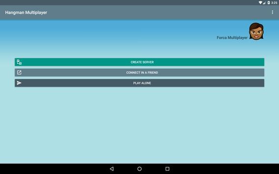 Hangman Multiplayer apk screenshot