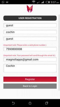 Magnolia Event Planner screenshot 1