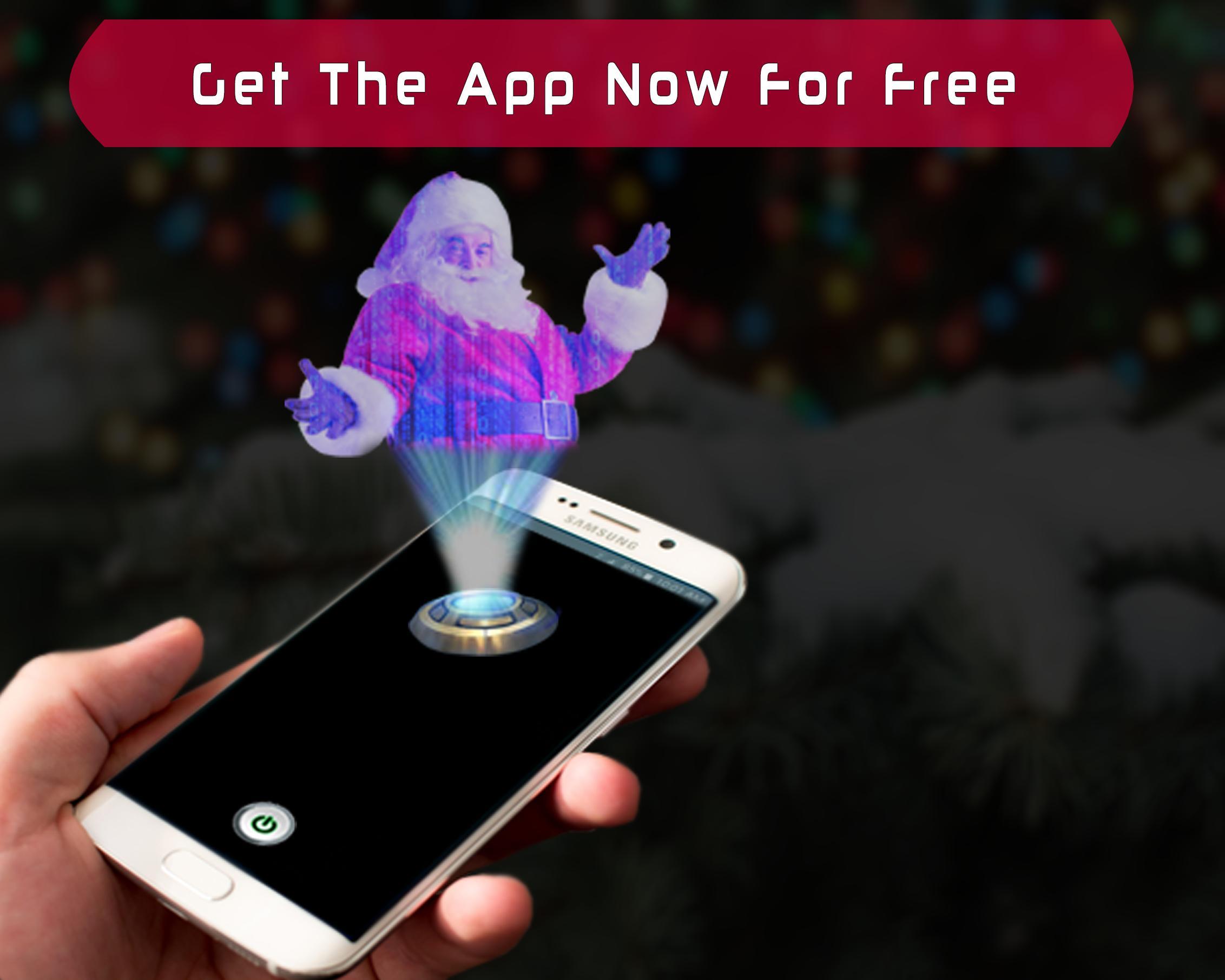 Real Santa Hologram 3D Joke for Android - APK Download