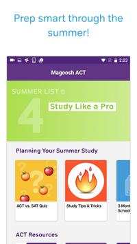 ACT Test Prep, Practice, and Flashcards 포스터