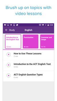 ACT Test Prep, Practice, and Flashcards 스크린샷 2