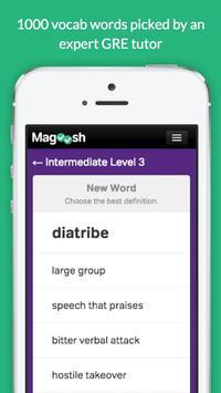 GRE Vocabulary Builder - Test Prep poster