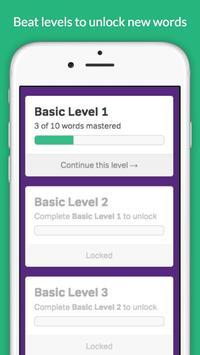 GRE Vocabulary Builder - Test Prep screenshot 14