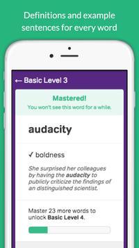 GRE Vocabulary Builder - Test Prep screenshot 7