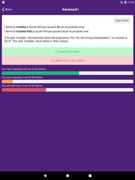 GMAT Idiom Flashcards imagem de tela 14