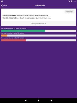 GMAT Idiom Flashcards imagem de tela 8