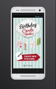 Birthday cards poster