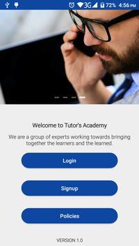 Tutor's Academy poster