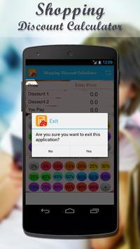 Shopping Discount Calculator screenshot 4
