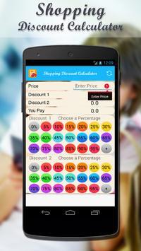Shopping Discount Calculator screenshot 2