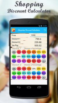 Shopping Discount Calculator screenshot 3