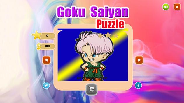 Goku Battle : Saiyan Warriors screenshot 4