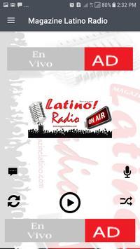 Magazine Latino Radio poster