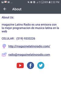 Magazine Latino Radio screenshot 1